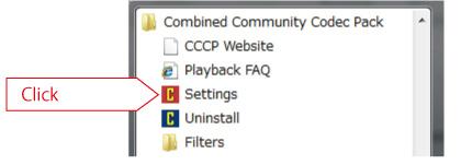 cccp setting