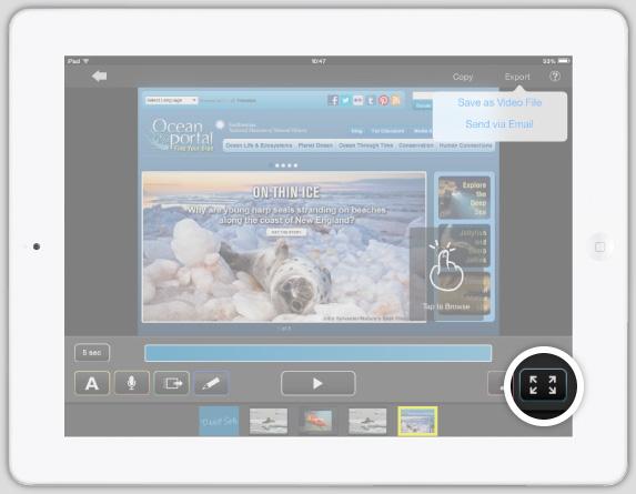 Switch to Presentation Mode