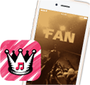 Free music app for iPhone by fans, for fans!