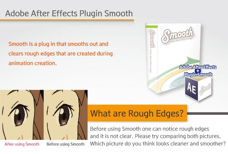 Adobe After Effects Plugin Smooth